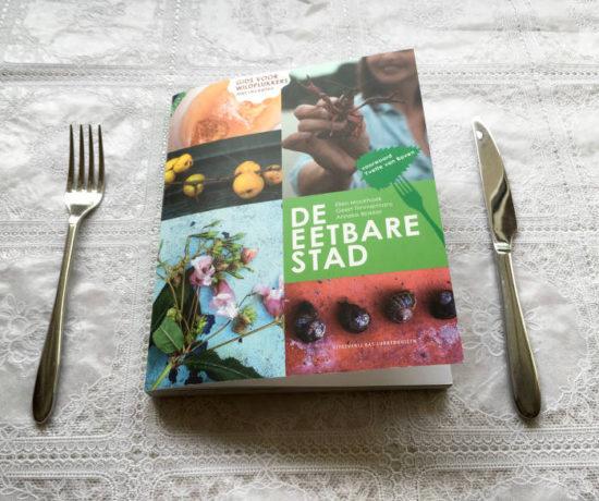 Cover De eetbare stad