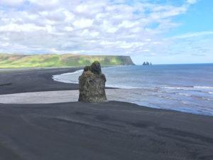 IJsland - zwarte strand